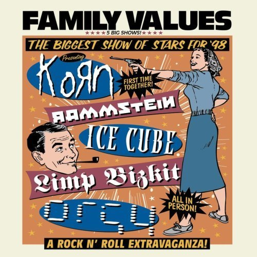 Family Values Tour 98 by Sony (1999-01-01)