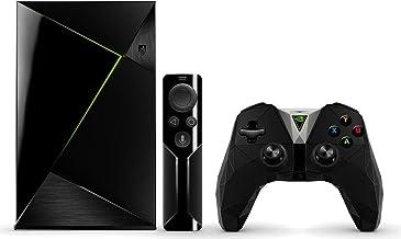 Nvidia Shield TV Pro - Android TV Gaming + Controller (resolución 4K HDR, Memoria Interna de 500 GB, 3 GB de RAM, Android 7.0), Negro