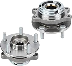 2pcs Front Wheel Hub Bearing Assembly with 5 Stud 4 Mating Bolt Holes Compatible with Nissan Murano Pair 2003-2007 and for Nissan Quest Pair 2004-2009,513310