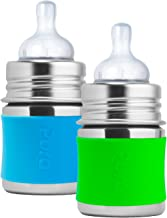 pura kiki stainless steel baby bottle