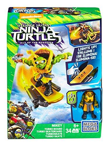 Mega Bloks – Tortues Ninja pour Adolescents – Mickey Turbo Board (Dpf76)