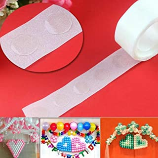 OSG Crafters 100 Glue Dots for Happy Birthday, Wedding, Anniversary, Baby Shower Decoration- Set of 1 Balloon Glue Dots