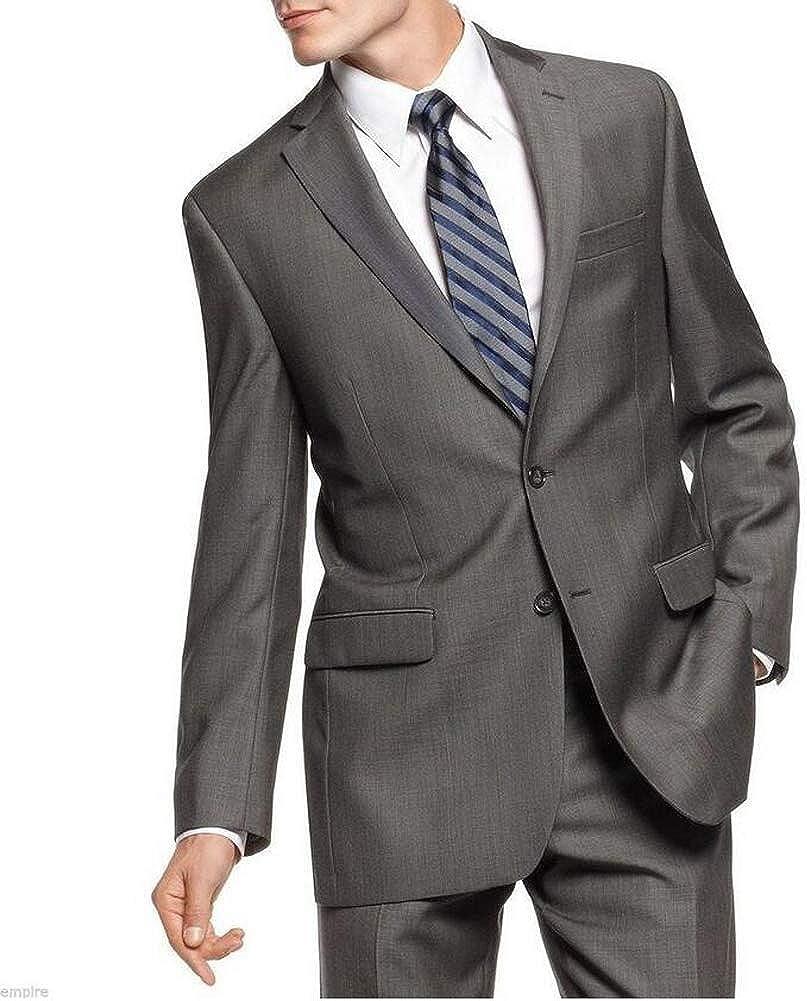 TOPG Men's Formal Notch Lapel 2 PC Suit Regular Fit Business Suit