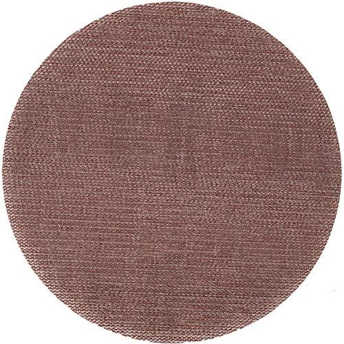 Klingspor AN 400 discos abrasivos con velcro, diámetro de 150 mm (sin perforar), 50 unidades, grano 180 (50 unidades)