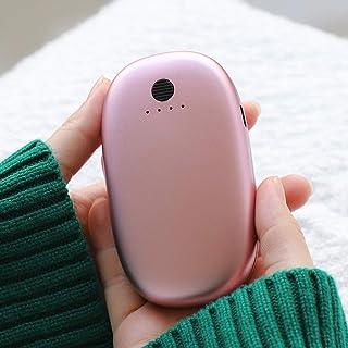 MOSOY Chauffe-Mains /électrique Rechargeable par USB 5200 mAh et Batterie Externe