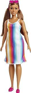 Barbie Loves The Ocean Beach-Themed Doll (11.5-inch Curvy...