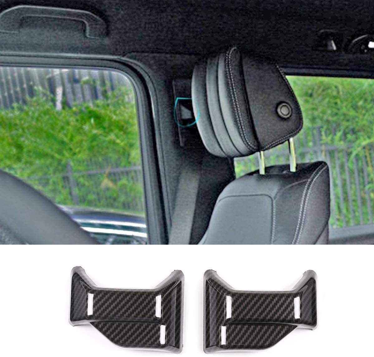 Onlogo Apply Super beauty Outlet ☆ Free Shipping product restock quality top to Interior ABS Chrome Safety Seat Trim Belt Cover