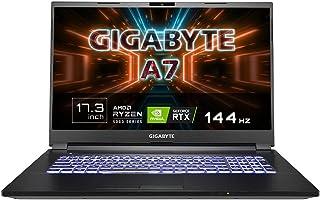 【Ryzen 9 5900HX搭載】GIGABYTE A7 ゲーミングノート/最新RTX 3070 GPU搭載/AMD Ryzen 9 5900HX / 17.3インチ/Win10 Home (144Hz | 8G*2 |512G SSD)