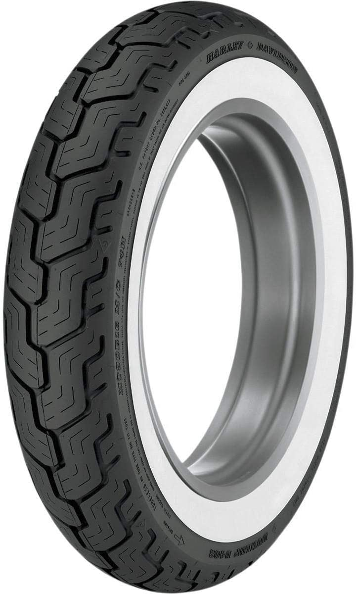 Dunlop Popular D402 Baltimore Mall For Harley-Davidson Whitewall Rear Motorcycle Tires
