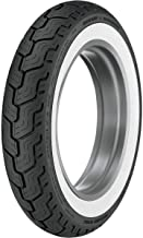 Dunlop D402 For Harley-Davidson Whitewall Rear Motorcycle Tires - MT90B-16 45006807