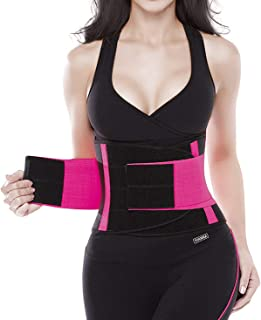 Women Waist Trainer Belt - Slimming Sauna Waist Trimmer Belly Band Sweat Sports Girdle Belt
