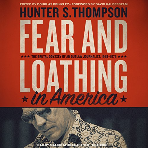 Page de couverture de Fear and Loathing in America