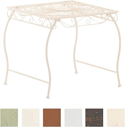 Amazon.fr : table basse fer forgé - Blanc : Cuisine & Maison