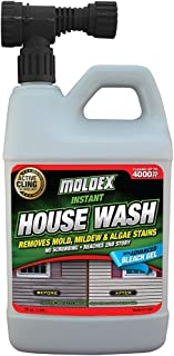 Moldex, Yellow Concentrated Instant House Wash, 56 oz