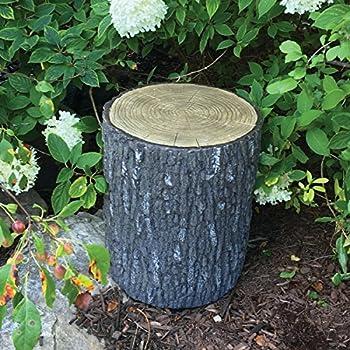 Aquascape Faux Oak Stump Cover for Yard Landscape and Garden | 78259