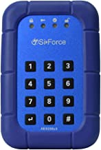 SiForce Lockbox Rugged Encrypted Keypad Drive USB 3.0 (1TB HDD)