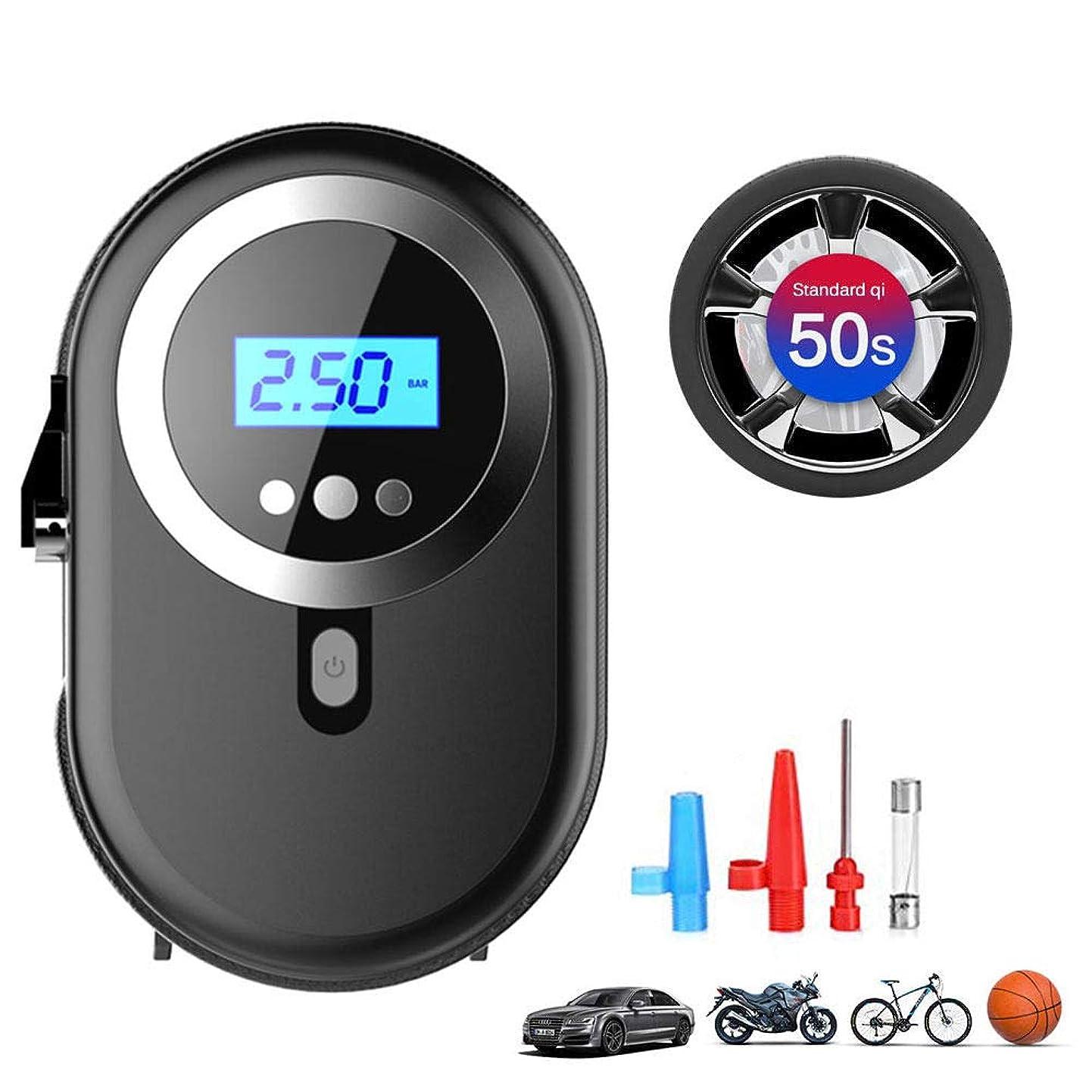 ファイタージェットペン携帯用タイヤの空気圧縮機、車、自転車、オートバイ、バスケットボールのための12V 120W車のタイヤのインフレーター