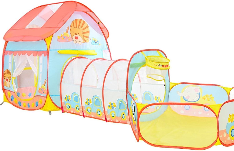 LF DD Kinder spielen Zelt Cartoon tragbare faltbare Spielzeug Haus Baby Marine Ball (Rosa Verpackung von 1)B07DL5TTYCGenial  | Authentische Garantie