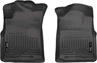 Husky Liners Fits 2005-15 Toyota Tacoma Access Cab/Double Cab, 2005-14 Toyota Tacoma Standard Cab Weatherbeater Front Floor Mats