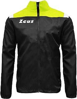 Zeus K-way Jolly Corsa Pioggia Running jogging Allenamento Relax Calcio Calcetto Impermeabile Sport