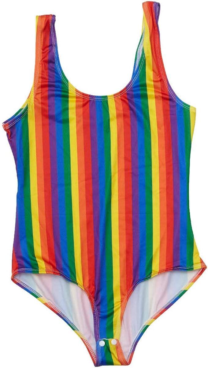 Rainbow Stripe Bodysuit