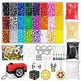 SUNTOY Artes y Manualidades Juguetes para niñas de 5-10 años, Kit de Cuentas de fusibles de 24 Colores para DIY Kit de Cuentas de Hierro Artesanal para niños Cumpleaños