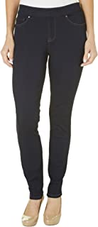 LEE Women's Petite Modern Series Midrise Dream Jean Harmony Pull On Legging