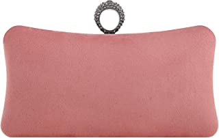 Fawziya Bling Ring Clutch Purse Women Rhinestone Clutch Evening Bags And Clutches