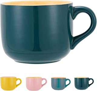 Sponsored Ad - TeenFighter Porcelain Large Oatmeal Mug - 23 Ounces(680mL) Wide Coffee Mug, Breakfast Cup and Soup Bowl, Mi...