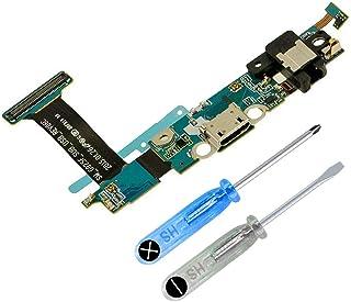 MMOBIEL Conector Dock de Carga Repuesto Compatible con Samsung Galaxy S6 Edge G925F CableFlex con Adhesivo Incl Htas.