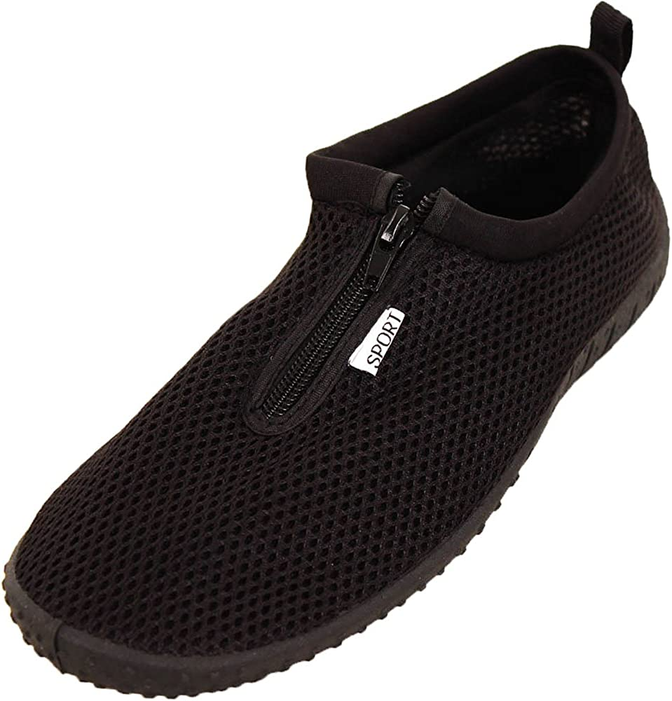 LEMON In stock Men's Zip Up Water Gorgeous Aqua Shoes Socks