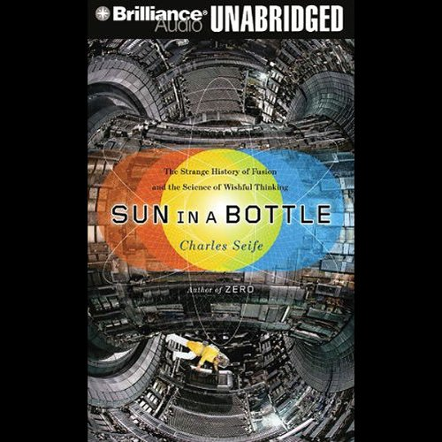 Sun in a Bottle audiobook cover art