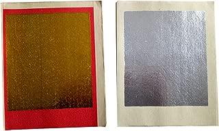 ZeeStar Chinese Joss Paper - Ancestor Gold and Silver Foil - Plain Brown Money Holder For Ancestral Worship 90 PCS