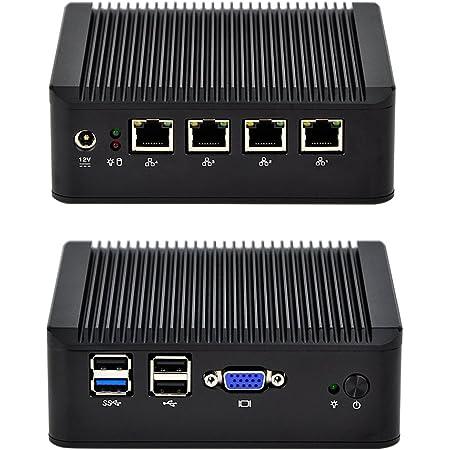 NRG Systems IPU443 Router//Firewall 4xLAN 60GB, 8GB RAM 11,5W TDP mit Intel Core i5-4300Y l/üfterlos mSATA SSD DDR3L SO-DIMM