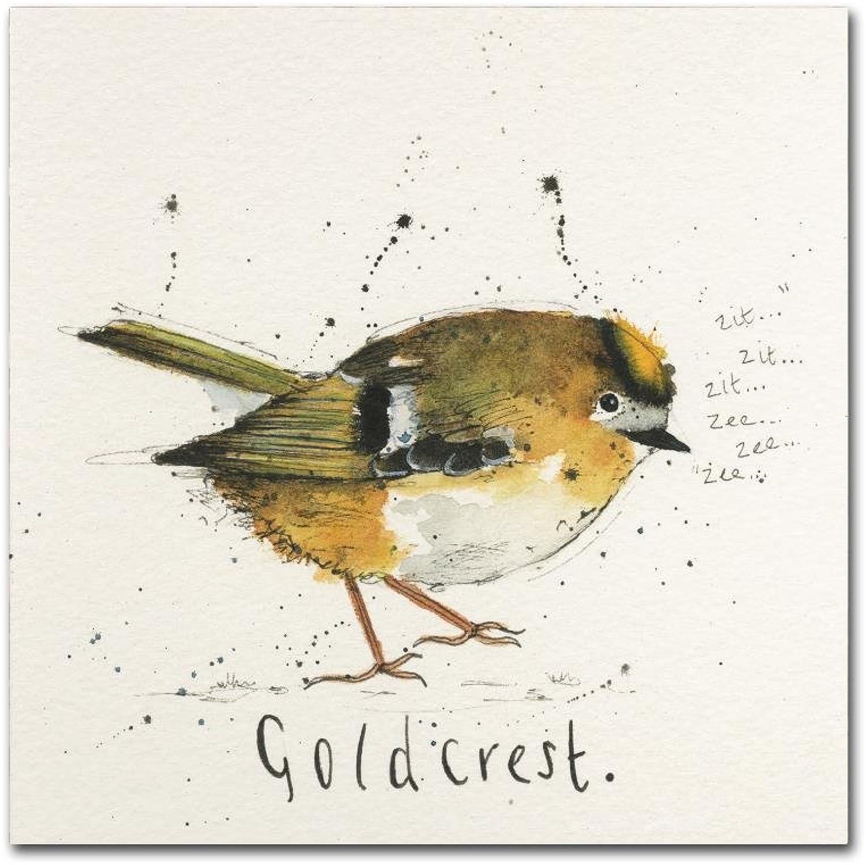 Trademark Fine Art ALI10905-C1414GG goldcrest Michelle Campbell, 14x14