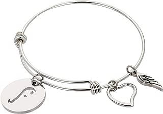 Best alphabet letter bracelet Reviews