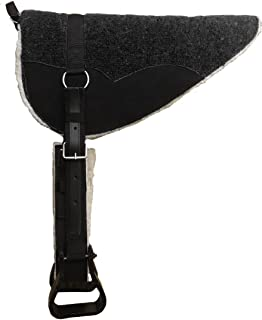 Tahoe Tack Derby Originals Extra Comfort 4 Layer Padded Bareback Pad with Girth & Stirrups