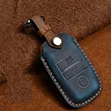 Cuir Smart Key Fob Cover Skin Cover Protector, Convient pour Kia KX5 K3S Rio Ceed Cerato Optima K5...