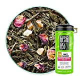 Tiesta Tea - Fruity Pebbles, Loose Leaf Strawberry Pineapple Green Tea, Medium Caffeine, Hot & Iced Tea, 4 oz Tin - 50 Cups, Natural, Green Tea Loose Leaf