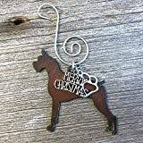 BOXER Christmas Ornament, Dog Lover Gift, Gift for Dog Mom, Pet Memorial, Dog Lovers Gifts