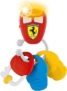 Chicco - Sonajero Ferrari de llaves electrónicas con sonido de coche