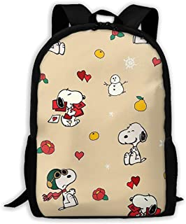 Custom Snoopy with Fruit Casual Backpack School Bag Travel Daypack Gift