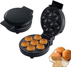 Machine à Cupcake, Gaufrier Électrique Machine Automatique De Petits Gâteaux, Faire 7 Petits Gâteaux, Chauffage Uniforme P...