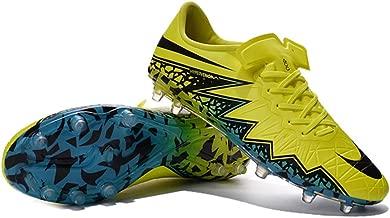 Kareorid Shoes Mens Hypervenom Phinish Neymar FG Yellow Football Soccer Boots