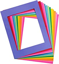 Hygloss Products 34412 24-Pack Bright Paper Frames Letter Size 24 Pieces, 12 Assorted Colors