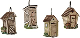 Best outhouse shower curtain hooks Reviews