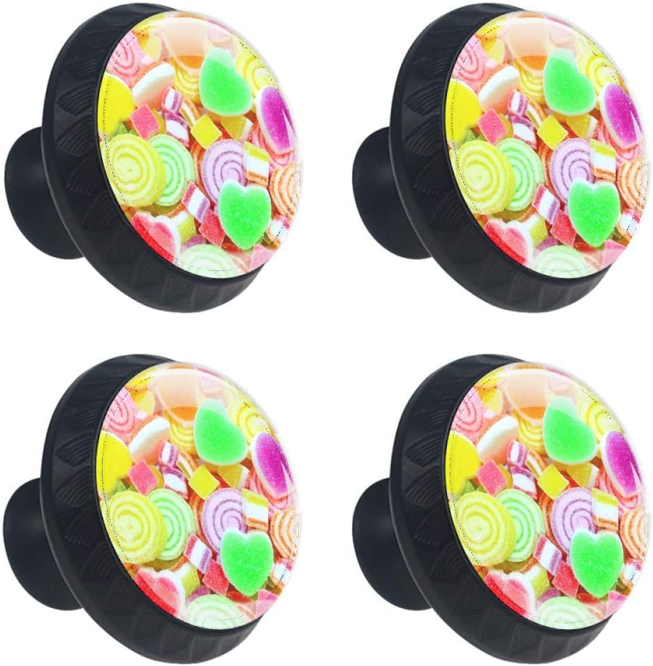 Idealiy Colorful Candy Door Drawer Handle Furniture Pull Cheap mail order sales Decorat Super beauty product restock quality top!
