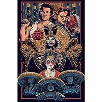 リトルチャイナの大きな問題映画アートポスター壁アート画像キャンバスポスターとプリントHDプリント油絵壁画リビングルーム家の装飾フレームレス絵画