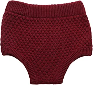 Wennikids Toddler Baby Boys & Girls Pumpkin Pants Knit Baby Bloomers Shorts