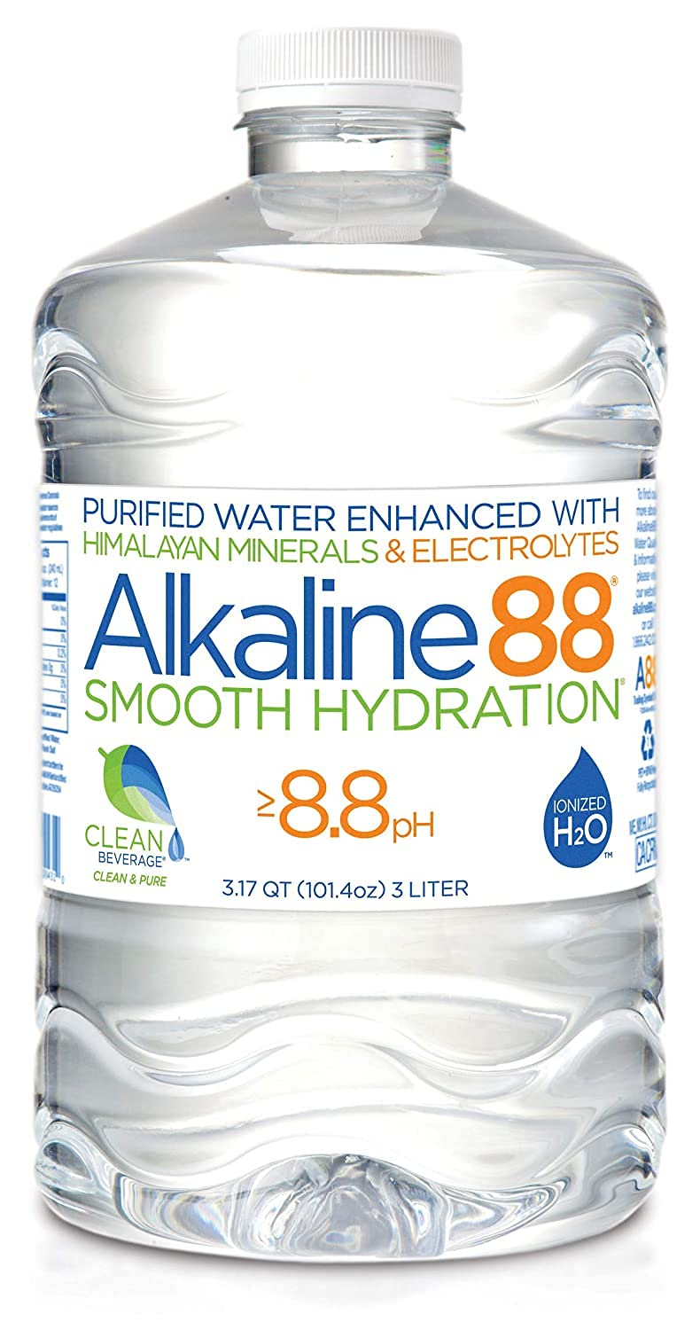 Many popular brands Alkaline88 Purified Ionized Max 86% OFF Water Minerals with Elec Himalayan